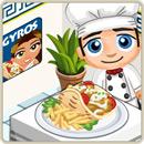 Taste test chicken gyro and fries