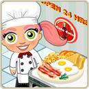 Taste test bacon and eggs