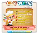 Cafe World VIP Membership