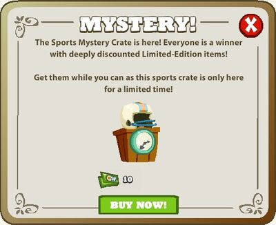 Mystery Crates