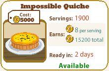 Impossible Quiche