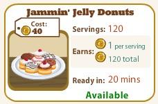 Jammin Jelly Donuts