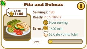 Pita And Dolmas