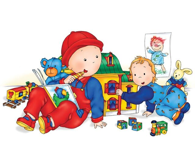 File:Caillou and Rosie - Younger Models.jpg