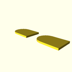 OpenSCAD linux i686 mesa-dri-r300 wicr opencsgtest-output null-polygons-actual