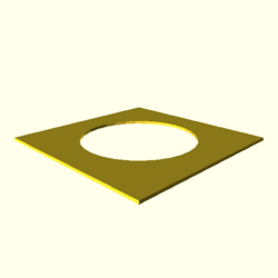 OpenSCAD linux ppc64 gallium-0.4-on hvub throwntogethertest-output circle-double-actual