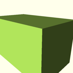 OpenSCAD mac 64-bit nvidia-geforce-gt cdiv throwntogethertest-output rotate extrude-tests-actual