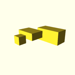 OpenSCAD linux ppc64 gallium-0.4-on hvub regression cgalpngtest cube-tests-expected