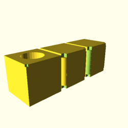 OpenSCAD mac 64-bit nvidia-geforce-gt cdiv opencsgtest-output render-tests-actual