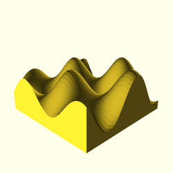 OpenSCAD linux i686 mesa-dri-r300 wicr regression opencsgtest surface-tests-expected