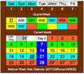 National Week Date Calendar 2013-05-20.png