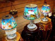 Crossroads Market tacky lamps