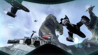 Falling out Osprey BOII