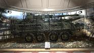 M1128 Mobile Gun System exhibit Museum MW2