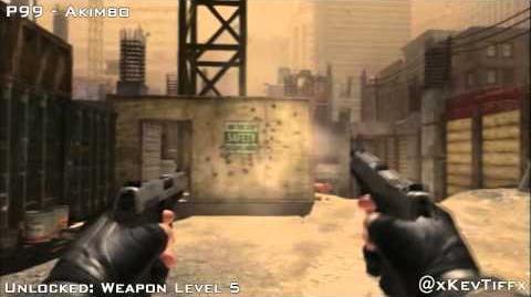 P99 All Attachments - Modern Warfare 3