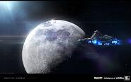 Lunar gateway concept 3 IW