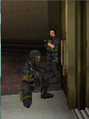 Cole Opening an Elevator MW3 DS.PNG
