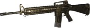 M16A4 Gold MWR