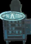 Up 'N Atoms Perk Machine Figure Down IW