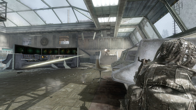 File:AdvancedRookie Summit ghillie sniper hiding from sentry gun.png