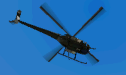 Cowboy's copter MW3 DS