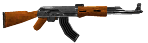 AK-47 third person MWDS