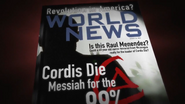 Magazine referring Raul Menendez BOII