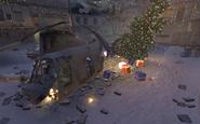 Crashed Helicopter Winter Crash CoD4
