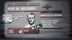 M. McCord Profile WaW