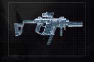 MW2 Vector Suppressed with ACOG Sight