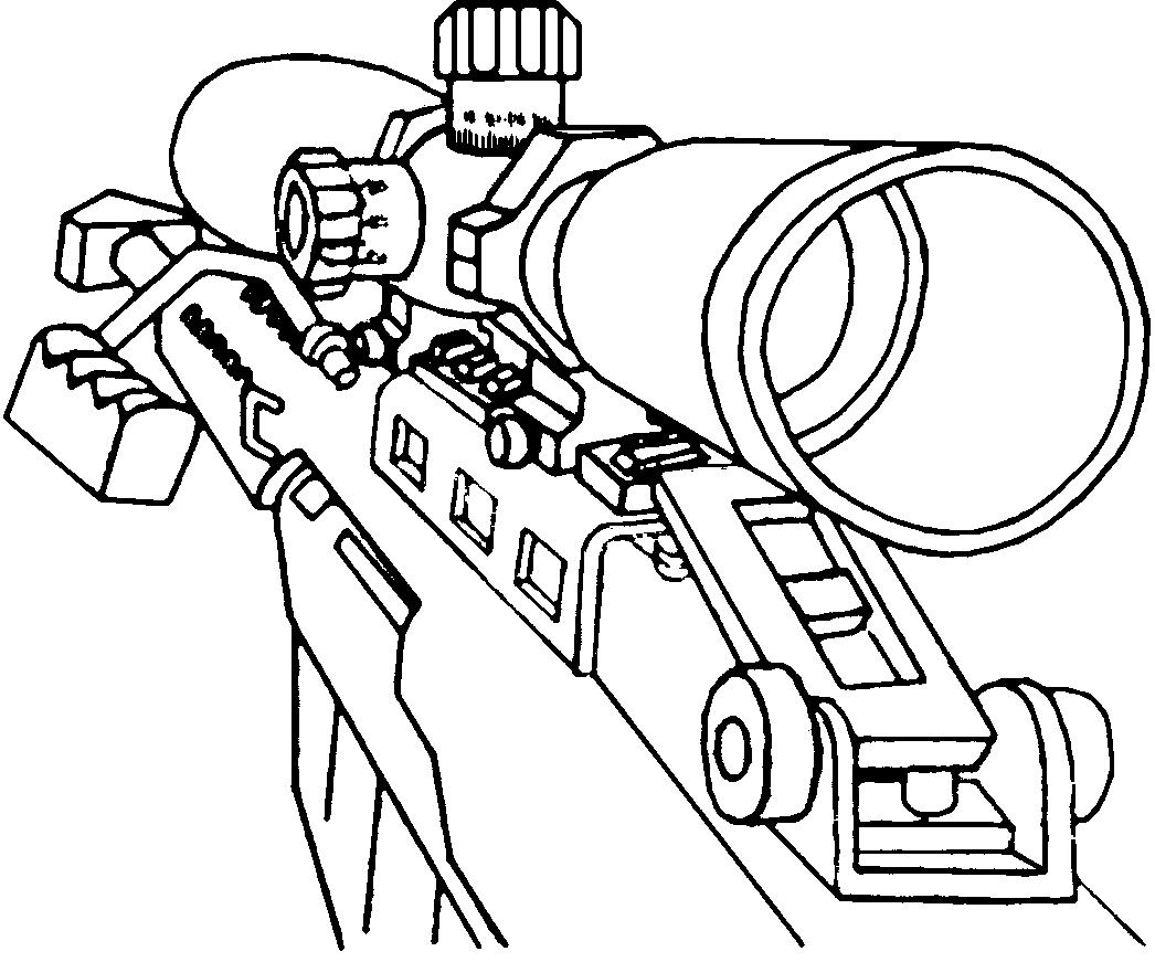 image - barrett50cal.jpg | call of duty wiki | fandom powered by wikia - Black Ops Zombies Coloring Pages