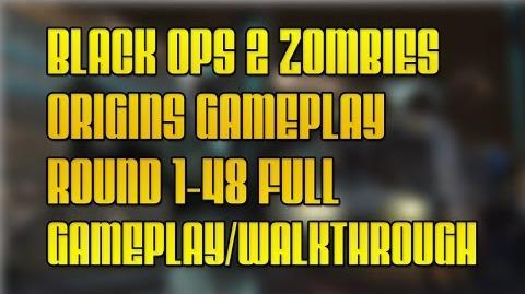 Black Ops 2 Zombies Origins Round 1-48 Full Gameplay Walkthrough