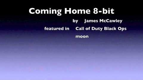 8-bit Coming Home Call of Duty Black Ops - Moon nazi zombies James McCawley