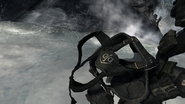 Frost taking off diving mask Hunter Killer MW3