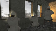 Call of Duty-Germans shooting at Russian troops at Pavlov's house