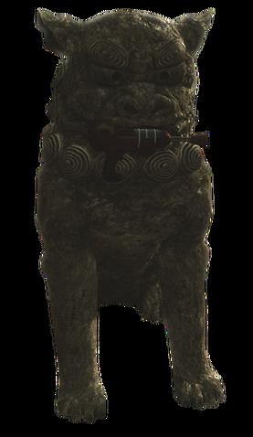 File:Ray Gun Lion Statue WaW.png
