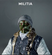 Militia Face Paint BO