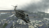 Pave Low flying over Resistance MW3