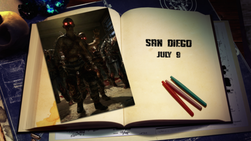 Treyarch SDCC Zombie teaser
