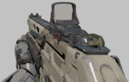 Kuda Reflex Sight first-person BO3