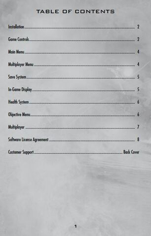 File:Call of Duty World at War Table of Contents.jpg