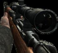 Kar98k sniper scope CoD2