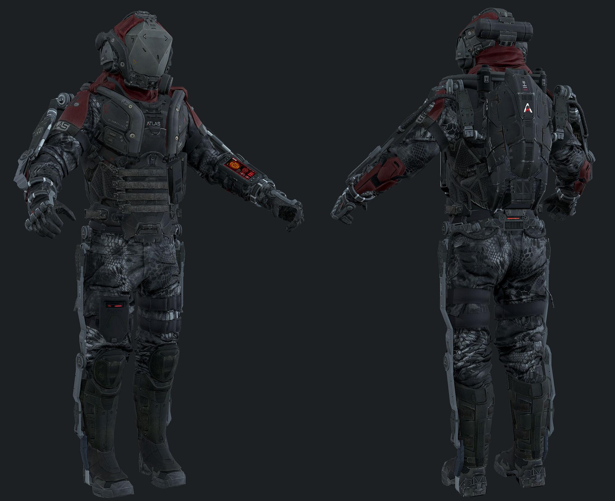 Atlas Elite 3D concept model AW