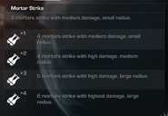 Mortar Strike Menu Select Extinction CoDG