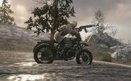 Prison Guard on a Motorbike Vorkuta BO