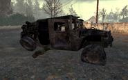 Destroyed Humvee Wasteland MW2