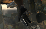Sandman unfolding the knife