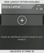 Extra Lethal Unlock Card IW