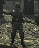 German sniper WaW