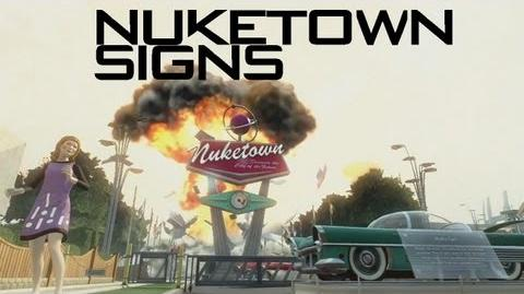 Call Of Duty Black Ops 2 Nuketown 2025 Signs-0